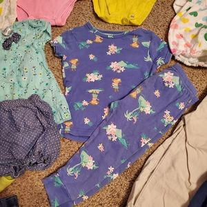 Carter's One Pieces - Carter's/Place Baby Girl Clothes Bundle 12M 18M